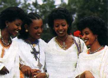 Pictures of Ethiopian ethnic and Lingustic groups
